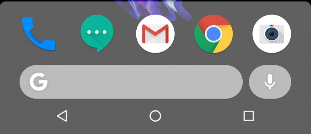 Google Pixel 3 Pixel Launcher