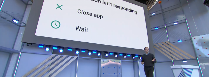 Android P now crashes apps instead of telling you when they aren't responding