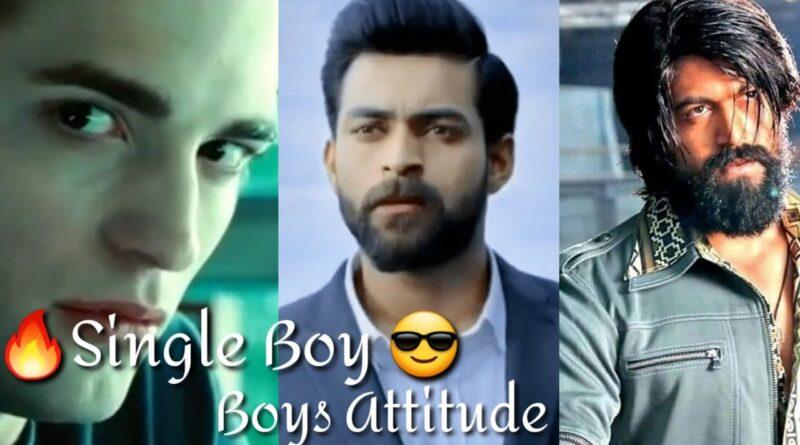 boys attitude status video
